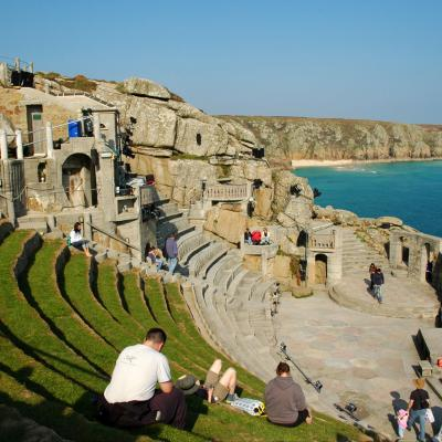 The minnack theatre on Cornwall